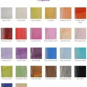 coloris ceinturages organza