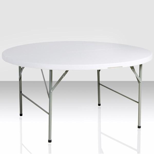table pliante ronde e c events. Black Bedroom Furniture Sets. Home Design Ideas