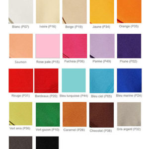 Nappe rectangle color