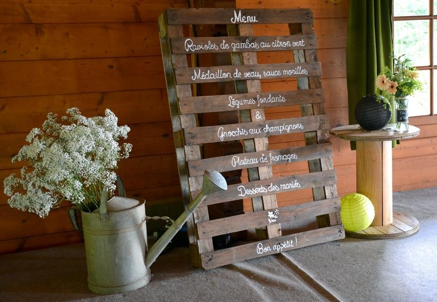 decoration palette mariage. Black Bedroom Furniture Sets. Home Design Ideas