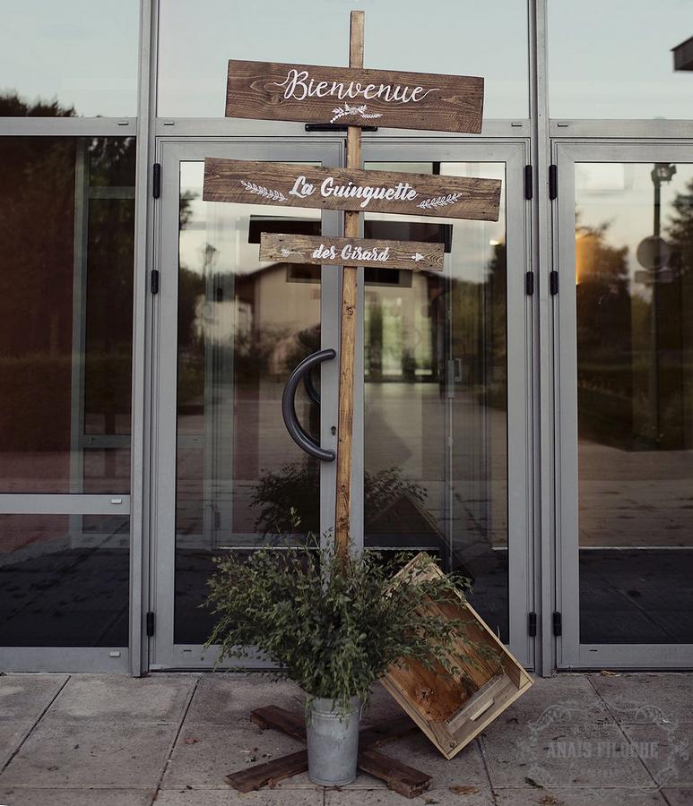 Panneau «Bienvenue»