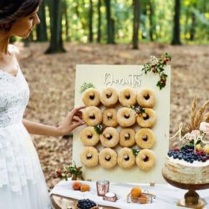 Présentoir à Donuts