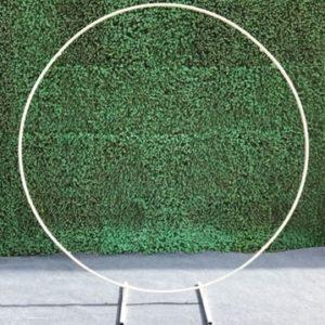 Arche ronde Blanche
