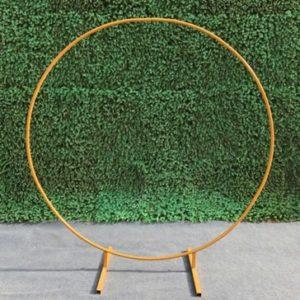 Arche ronde Dorée