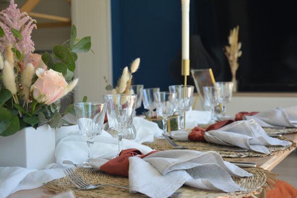 Verre Vintage assortiment verre a vin a pied E&C Events location vaisselle décoration événement mariage anniversaire Pays de Gex Suisse Geneve 01